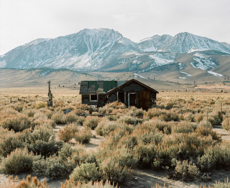 deserted cabin in Yosemite national park
