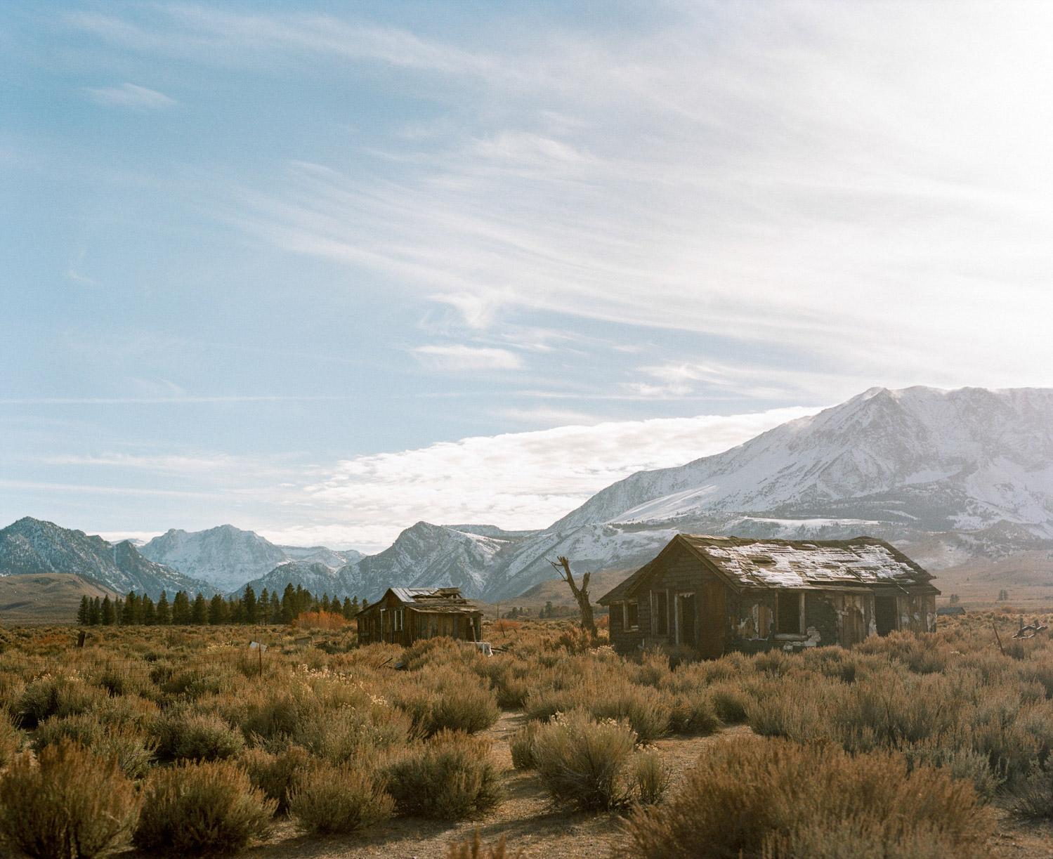 deserted cabins in Yosemite