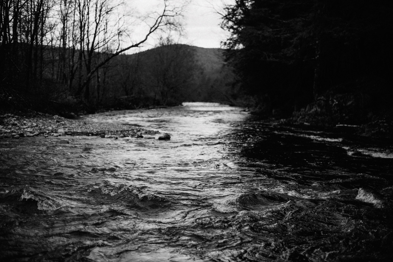 river in pittsfield vermont