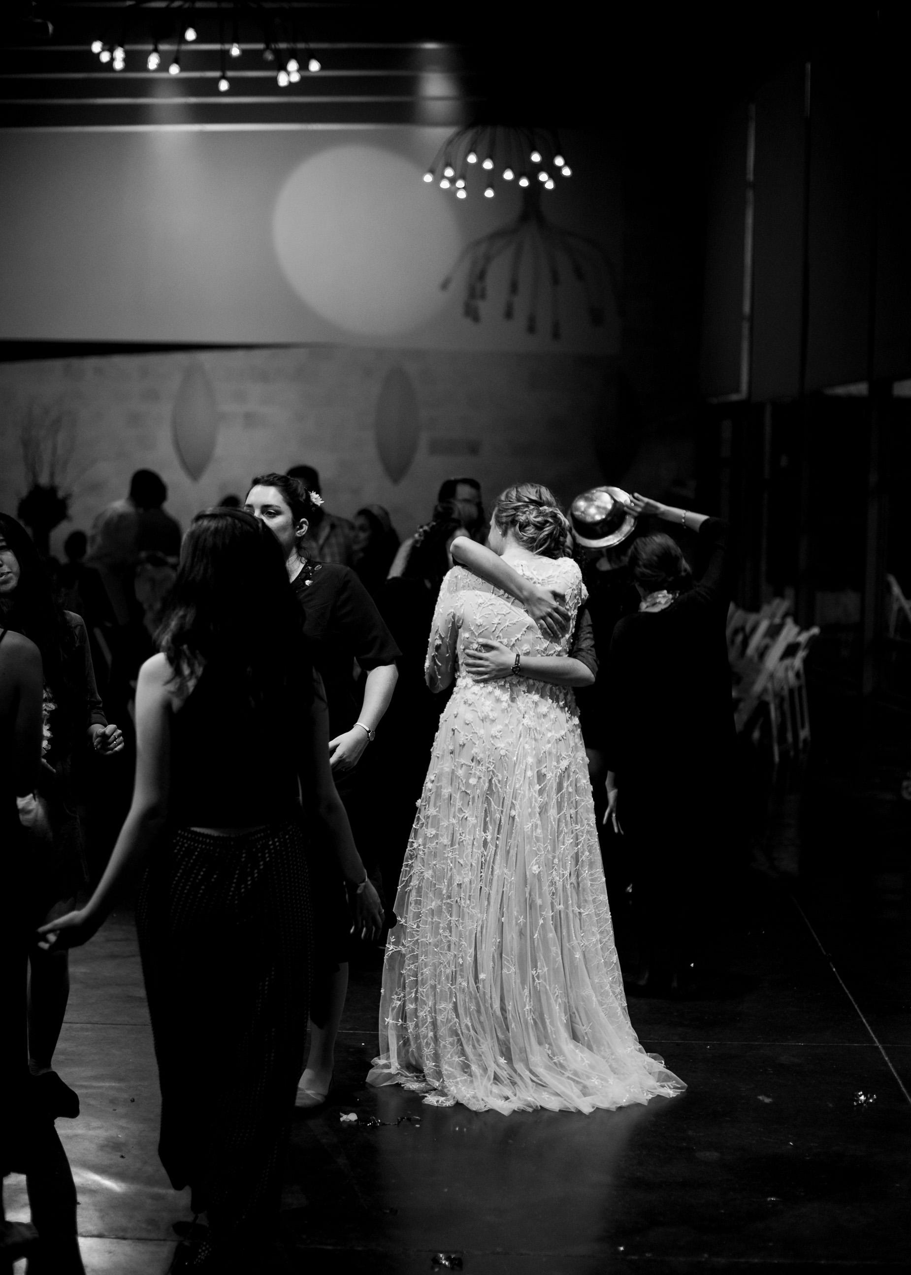 bride dancing in wedding