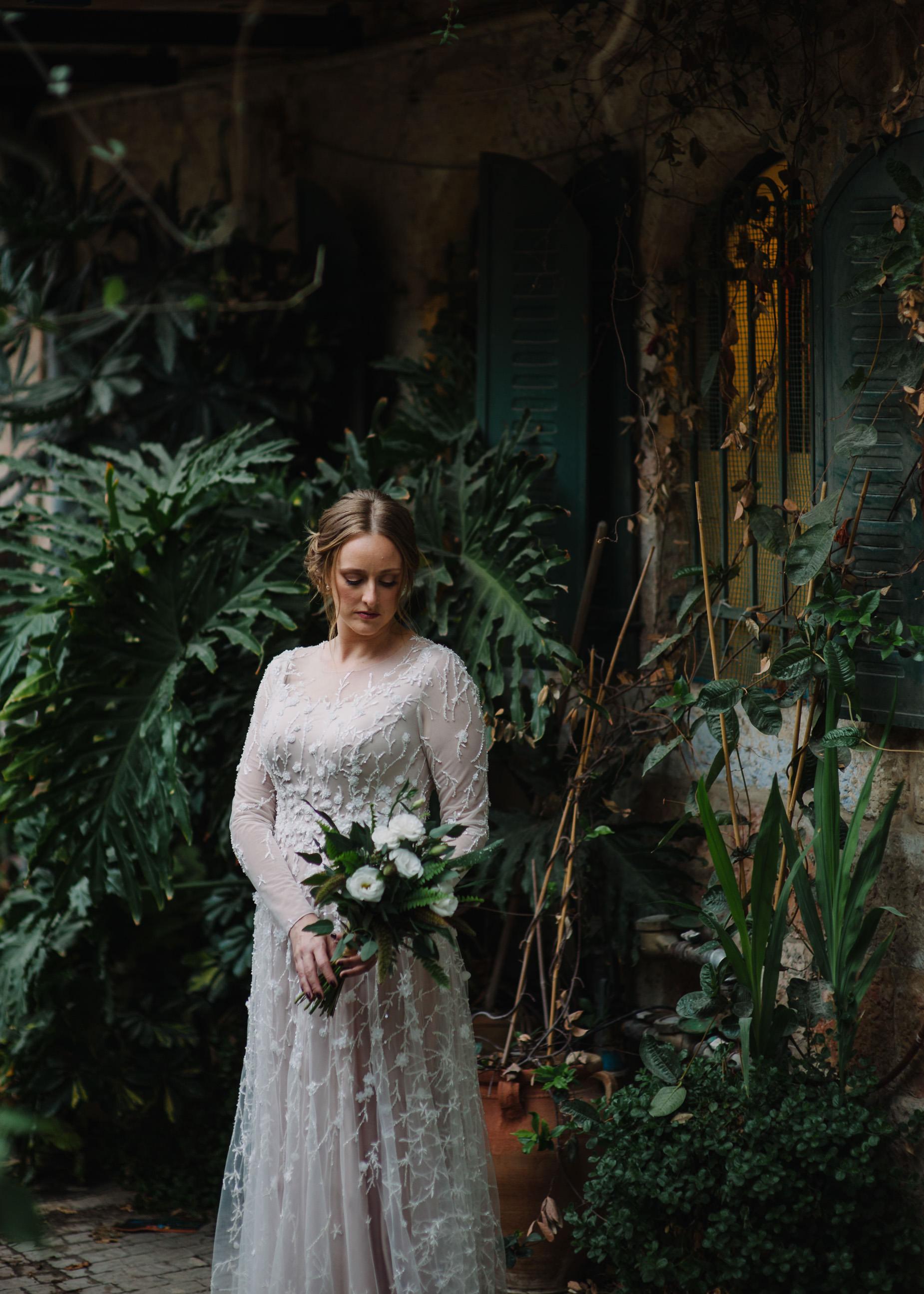 bridal photo in Jerusalem