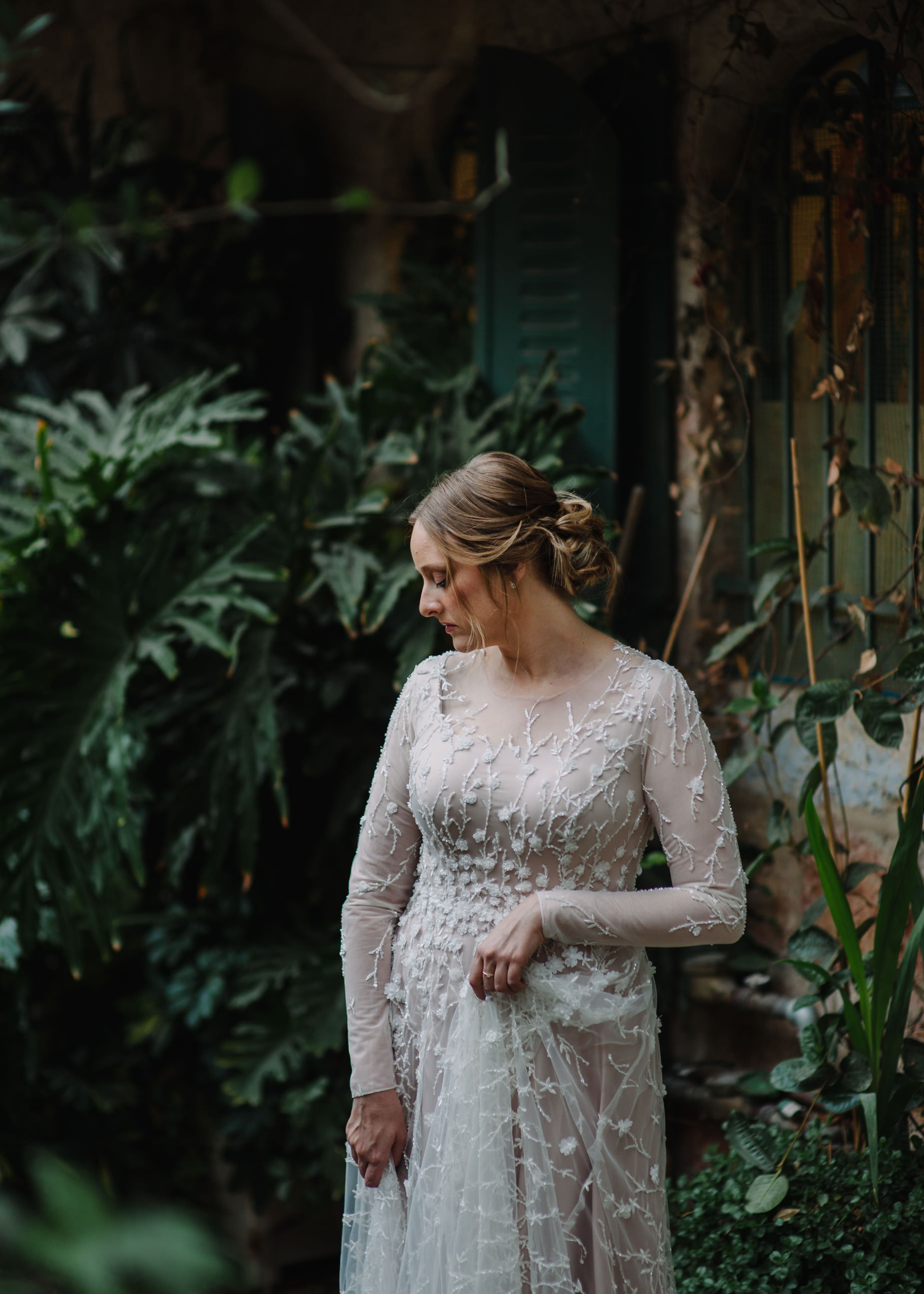 stunning Jerusalem bride